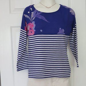 JOULES UK 🇬🇧 - Striped and floral top